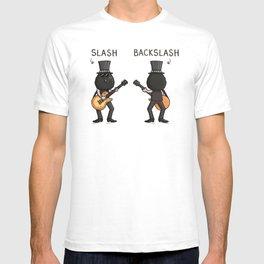 Slash / Back Slash T-shirt