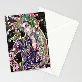 Rehab Amy Graffiti in New York City Stationery Cards