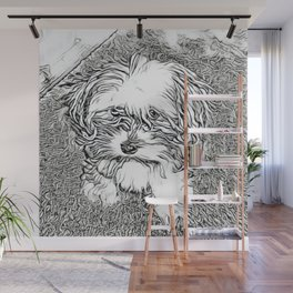 Copper the Havapookie Wall Mural