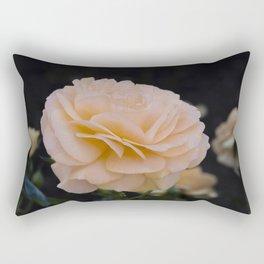 Peach colored Rose Rectangular Pillow