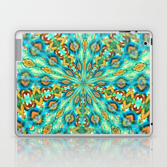 Turquoise Fields Laptop & iPad Skin