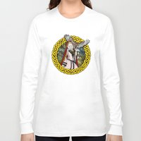 goddess Long Sleeve T-shirts featuring Goddess by Astrablink7