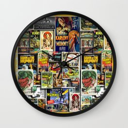 Vintage Mumm by iamjohnlogan Wall Clock