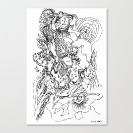Page 13 Canvas Print