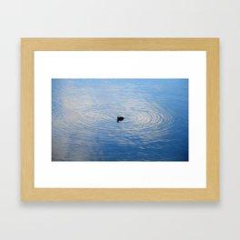 perfect circle Framed Art Print