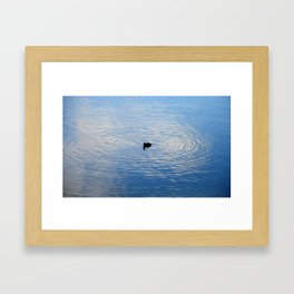 perfect circle Framed Art Print