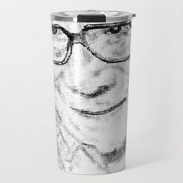 Typewritten Dalai Lama Travel Mug