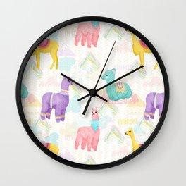 Alpacas, Vicuñas and Llamas, Oh My Wall Clock