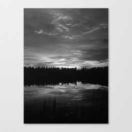 Earth, water, sky Canvas Print