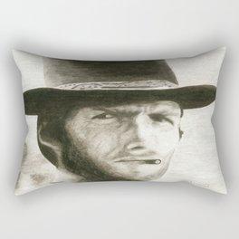 The Man With No Name Rectangular Pillow