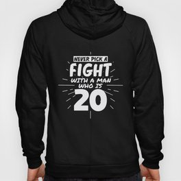20 Years Old Men 20 Birthday Present Funny Hoody