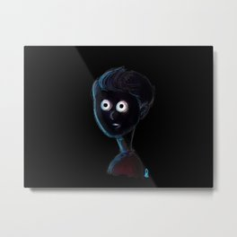 End of the Tunel Metal Print