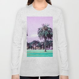Three palm trees. Long Sleeve T-shirt