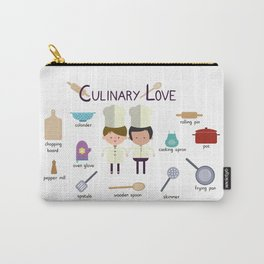 Culinary Love Carry-All Pouch