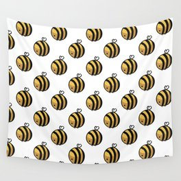 Bee Polka Dot Wall Tapestry