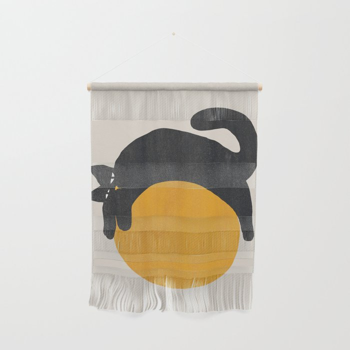 Cat with ball Wall Hanging