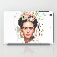 frida iPad Cases featuring Frida by Tracie Andrews