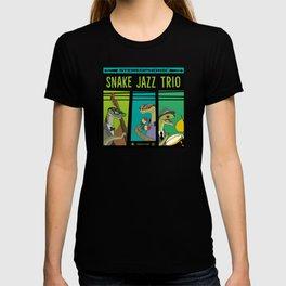Snake Jazz Trio Vinyl  T-shirt