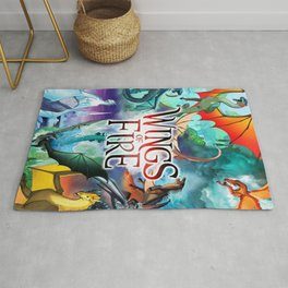 Wings Of Fire All Dragon Rug