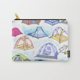 tents from a mountain vagary Carry-All Pouch