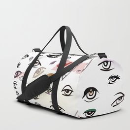 Guests at a Party Duffle Bag