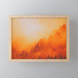 ON FIRE Framed Mini Art Print