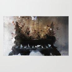 Piandemonium - Piano Rorschach Rug