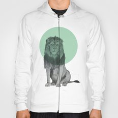 sitting lion Hoody