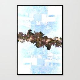 Landscapes c8 (35mm Double Exposure) Canvas Print