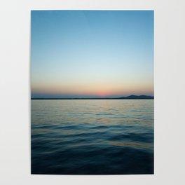 Subtle sunset Poster