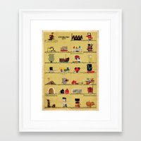 babina Framed Art Prints featuring archimusic city  by federico babina