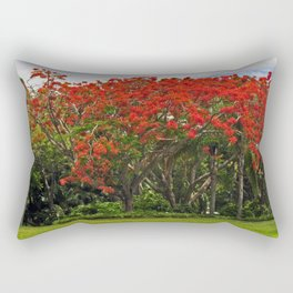 Royal Poinciana Tree Rectangular Pillow