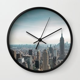 New York City 17 Wall Clock