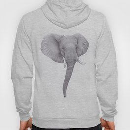 Elephant head Drawing Hoody