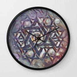 Chai Merkabah Wall Clock