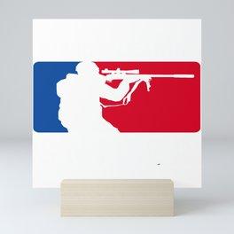 Sniper Major Airsoft Airsoft BBs Gift Mini Art Print