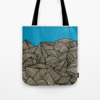 boat Tote Bags featuring - boat - by Magdalla Del Fresto
