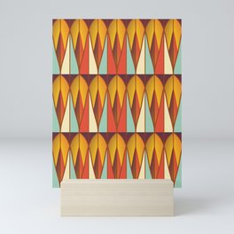 Colorful pattern Mini Art Print
