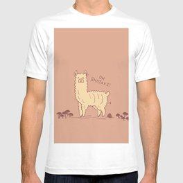 Shiitake Llama T-shirt