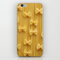 pasta iPhone & iPod Skins featuring Pasta  by Ylenia Pizzetti