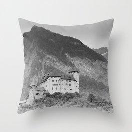 Castle Gutenberg Throw Pillow