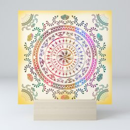 Mandala Mini Art Print