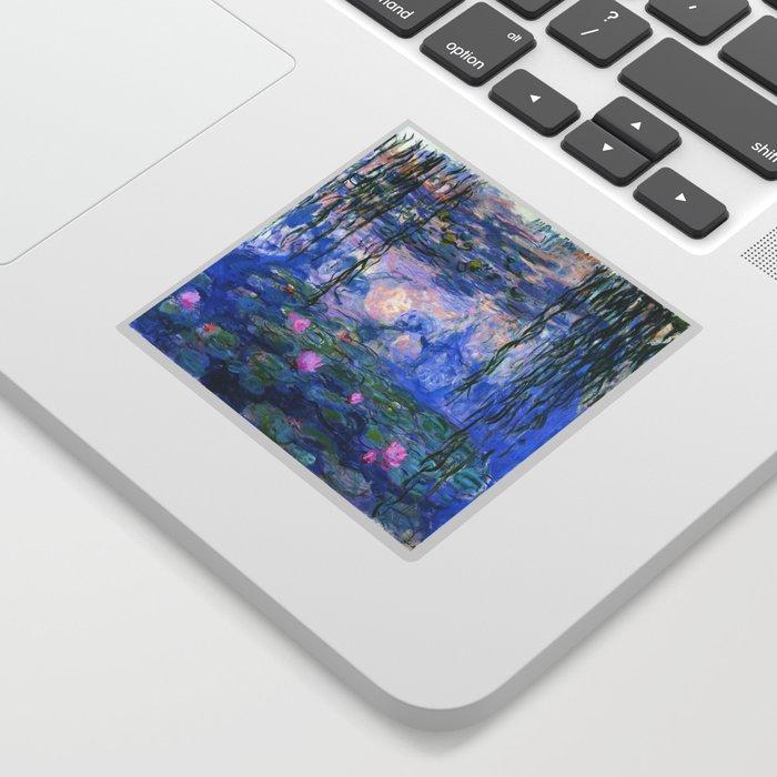 Water Lilies Monet Sticker