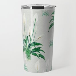 peace lily painting Travel Mug