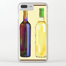 Let's Have Some Wine Clear iPhone Case