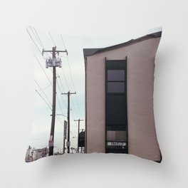 """steak"" Throw Pillow"
