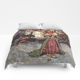 Beauty by Edmund Dulac Comforters