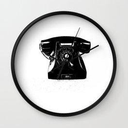 Vintaga cellphone Wall Clock