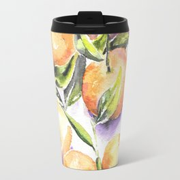 Sweet Clementines Travel Mug