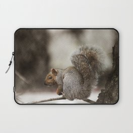 Squirrel Through the Screen Laptop Sleeve